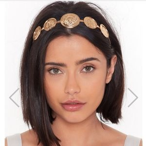 JUST IN!! Coin Structured Headband